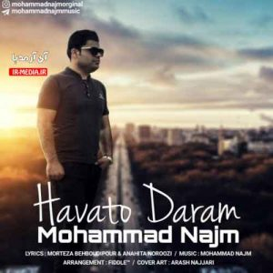 دانلود آهنگ محمد نجم به نام هواتو دارم
